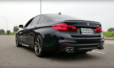 BMW 530i exhaust note