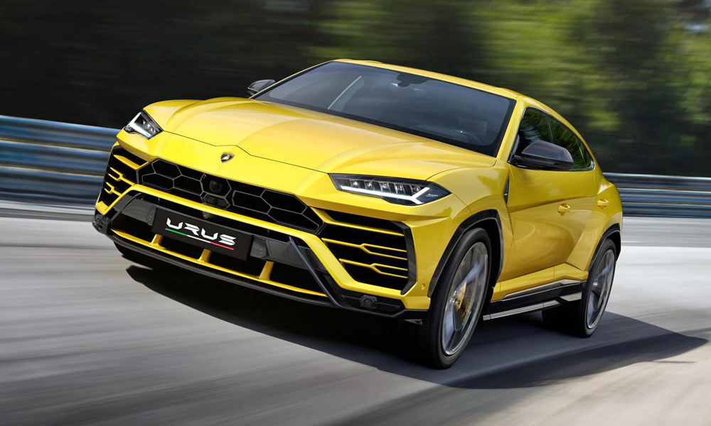 The Lamborghini Urus has finally been revealed.