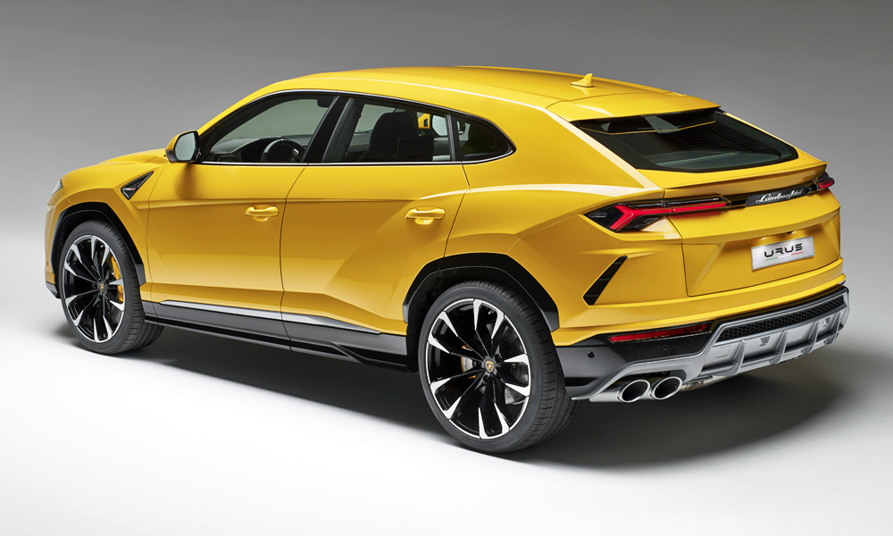 Captivating Lamborghini Urus