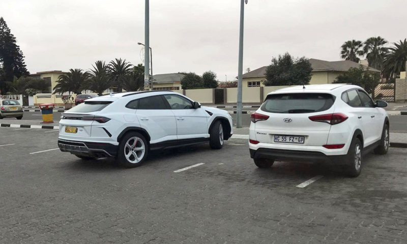 Lamborghini Urus spotted (beside Tucson!) in Namibia - CAR magazine
