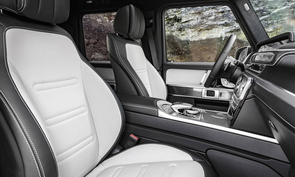 Seats (including active multicontour perches) will be available with heating and ventilation functions.