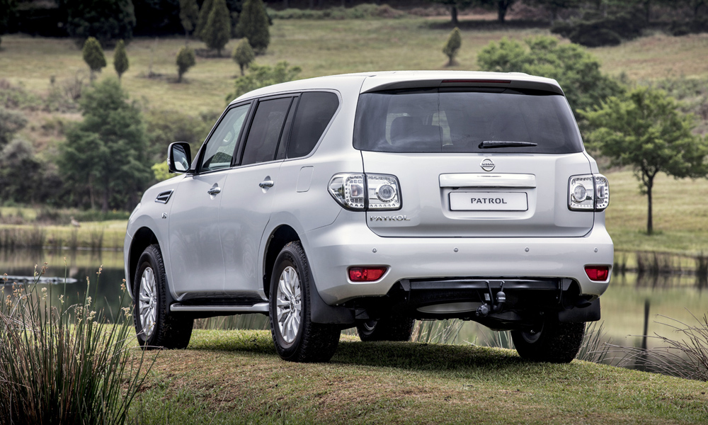 It shares much with the Infiniti QX80.