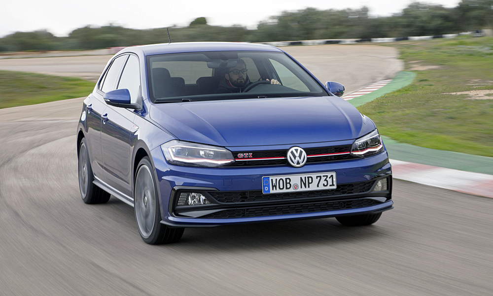 The GTI derivative (in DSG guise) will be available from market launch of the new Polo.