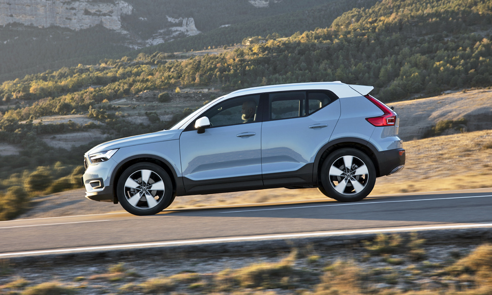 Thanks to its smart suspension setup, the XC40 feels both plush and dynamic.