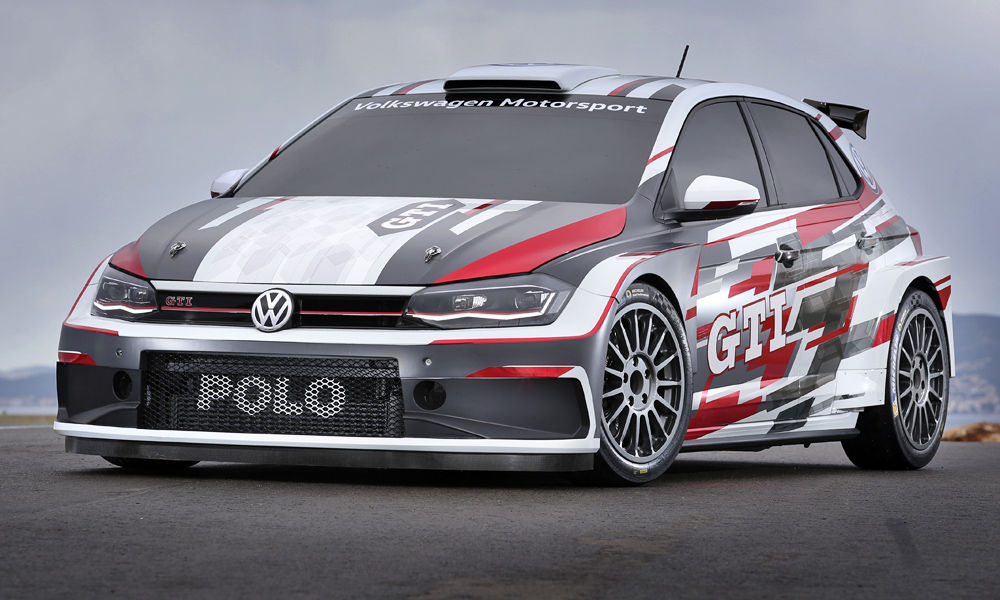 Volkswagen has officially unveiled its new Polo GTI R5.