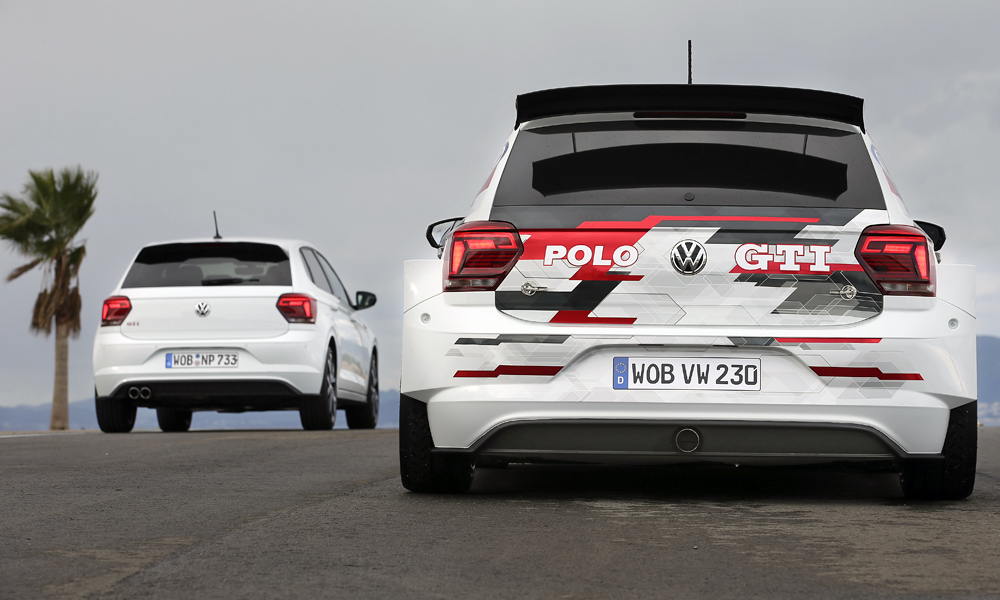 Whereas the new production Polo GTI uses a 2,0-litre with 147 kW, the Polo GTI R5 makes 200 kW from its 1,6-litre.