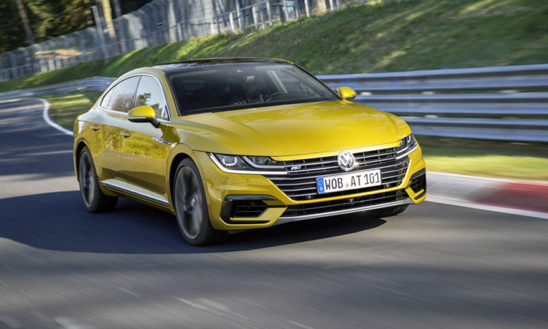 volkswagen is working on a vr6 powered arteon r car magazine. Black Bedroom Furniture Sets. Home Design Ideas