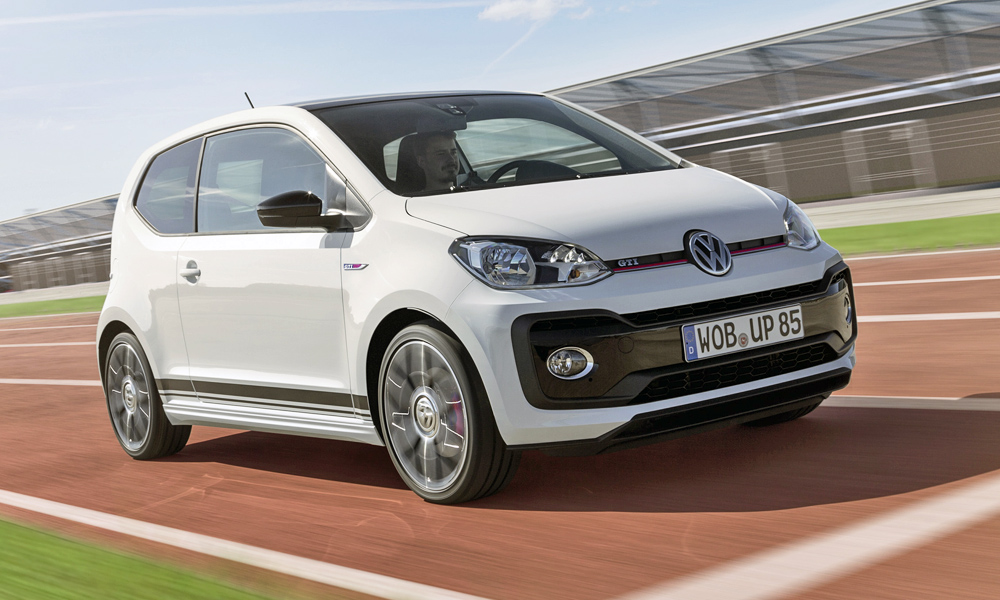 here 39 s how much the vw up gti costs in germany car magazine. Black Bedroom Furniture Sets. Home Design Ideas