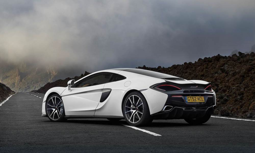 It adds some parts from the 570S.