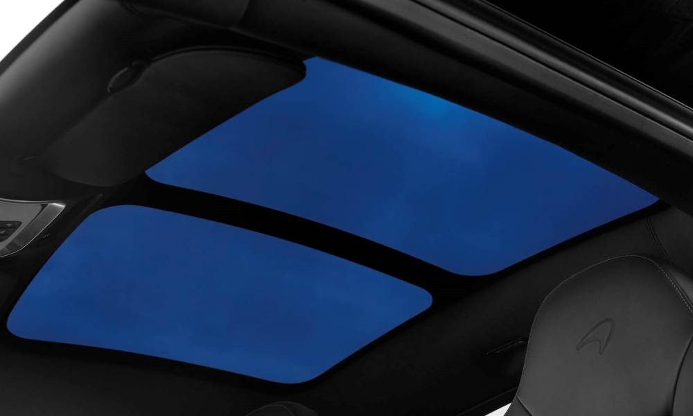 An electrochromic sunroof is also offered.