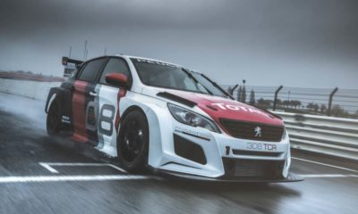 Peugeot 308 GTi TCR driving