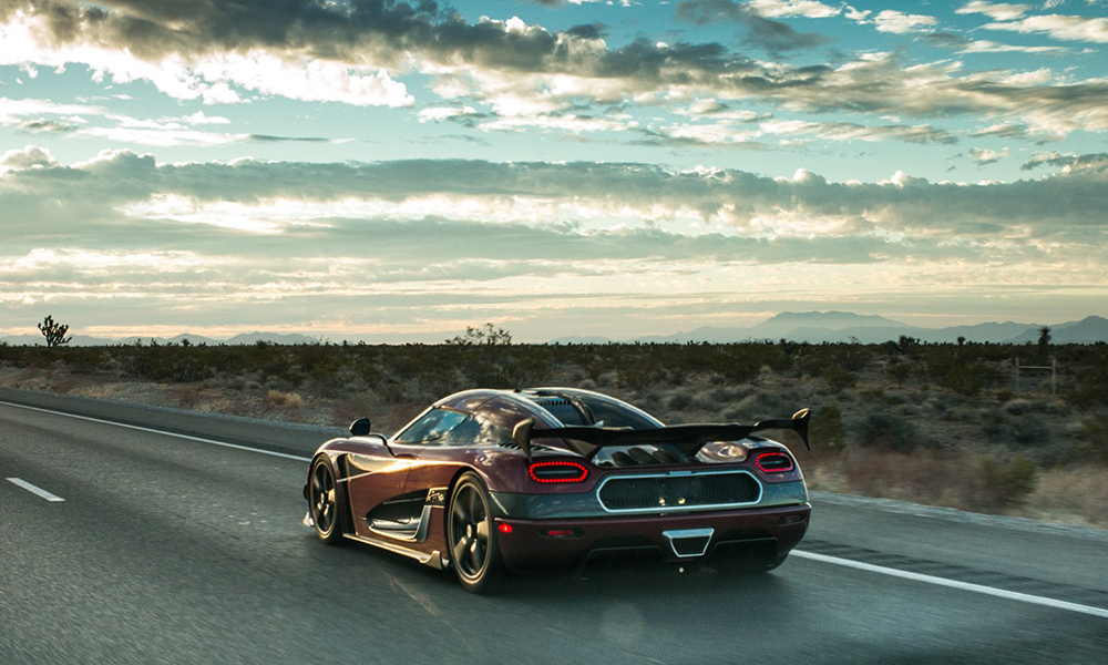 Agera RS Speed Record