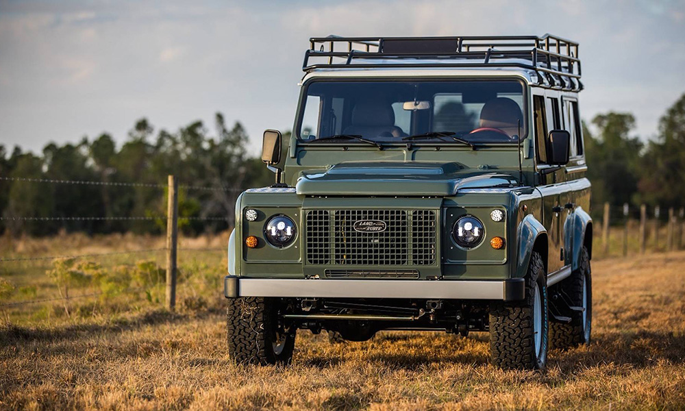 East Coast Defender Project Tuki Front