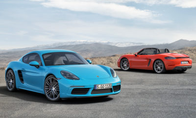 Porsche 718 Cayman S and 718 Boxster S