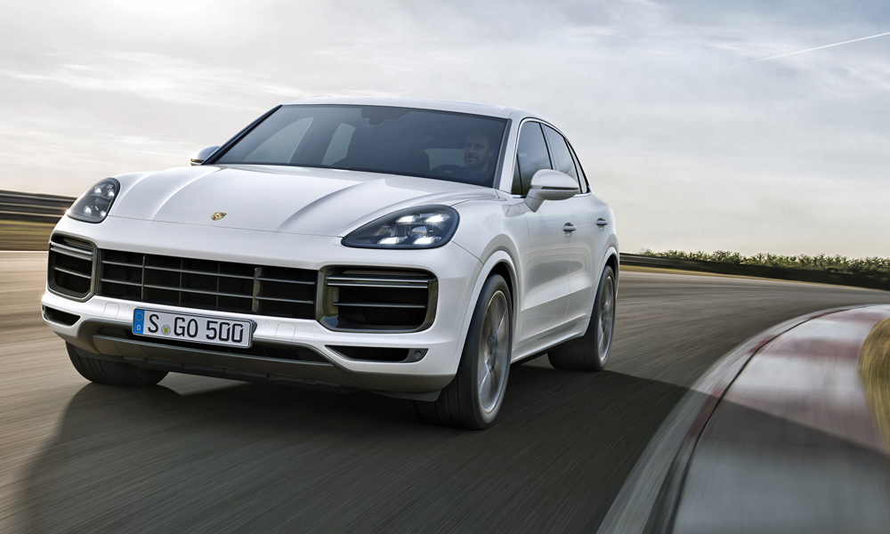 Swoopy Porsche Cayenne Coup 233 Given Green Light Car Magazine