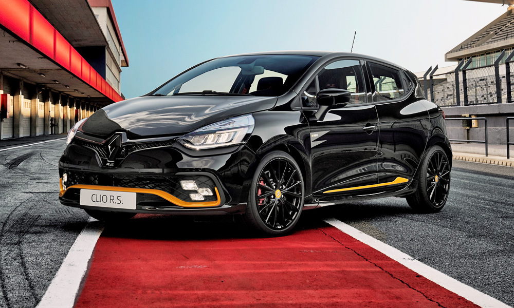 Renault has unveiled its new special edition Clio RS 18.