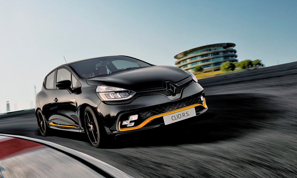 The limited-edition model is based on the Clio RS 220 Trophy.