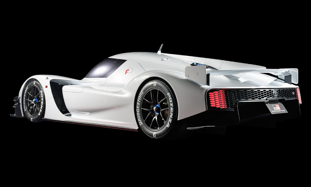 The Toyota GR Super Sport Concept draws much from the LMP1 car.