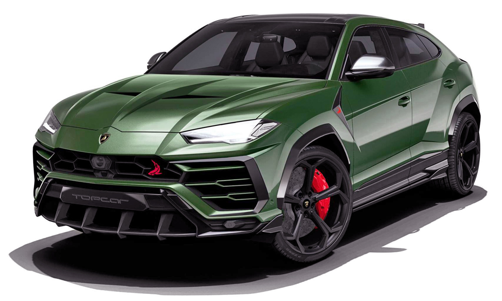 tuner reveals angry body kit for lamborghini urus car magazine. Black Bedroom Furniture Sets. Home Design Ideas