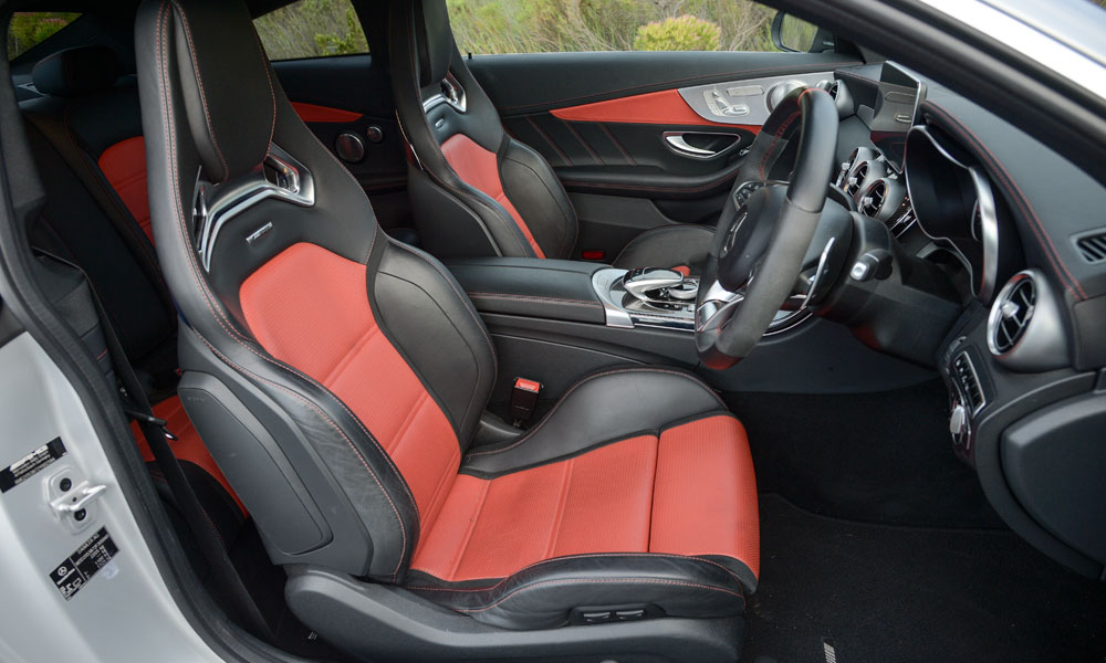 Optional sports seats a tight fit for fuller-figured folks.