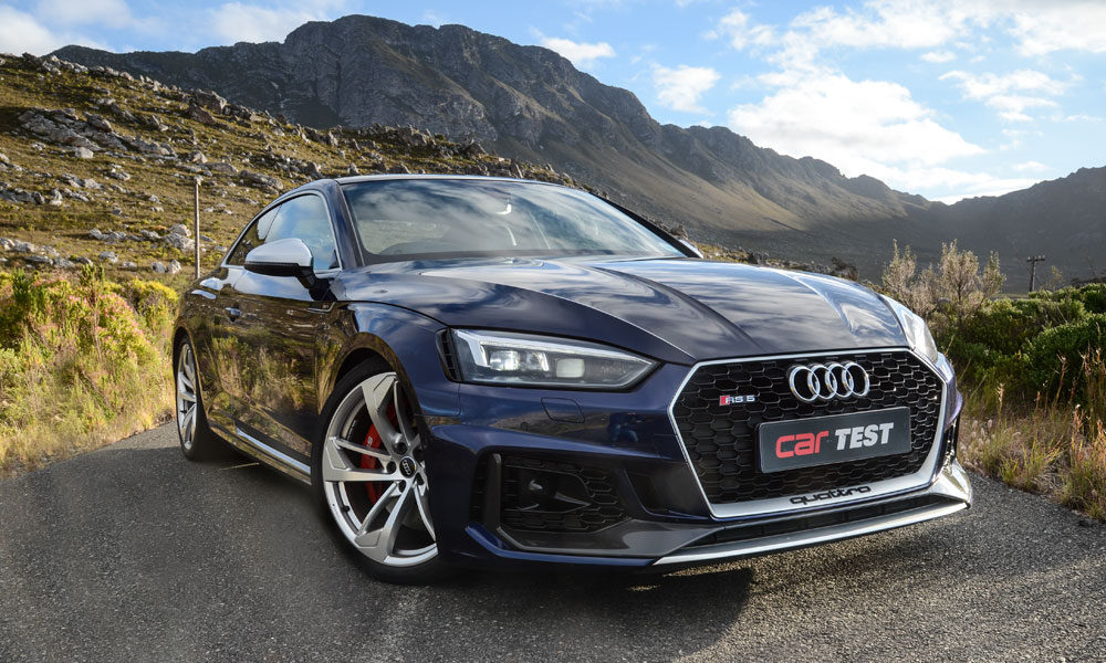 RS5 wears its go-faster credentials with subtlety.