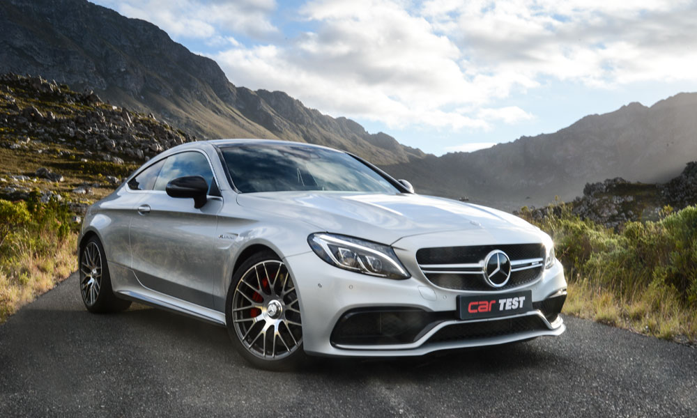 Muscular-looking C63 pulls no punches in the cosmetic department.