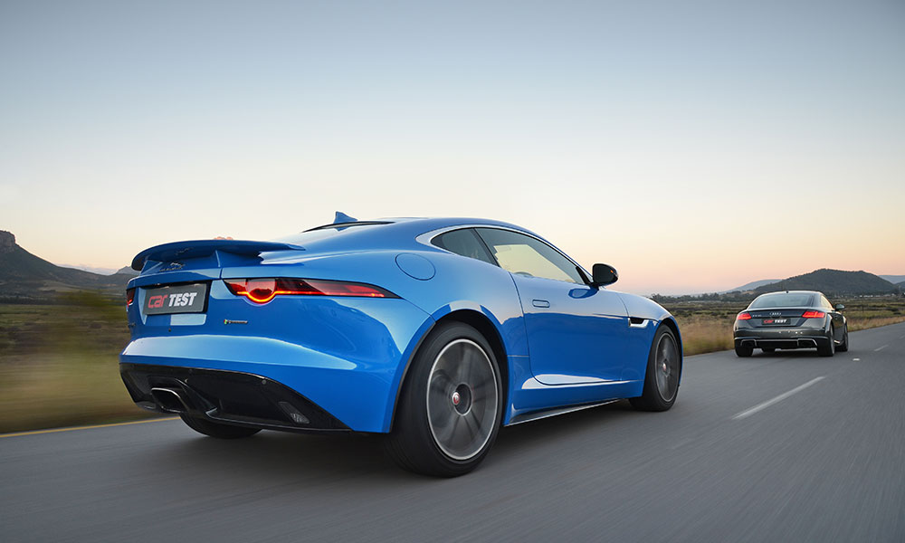 F-Type cuts the more striking figure.