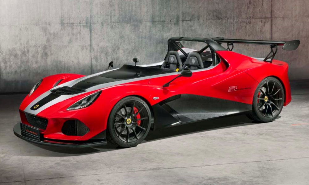 Lotus 3-Eleven 430 front