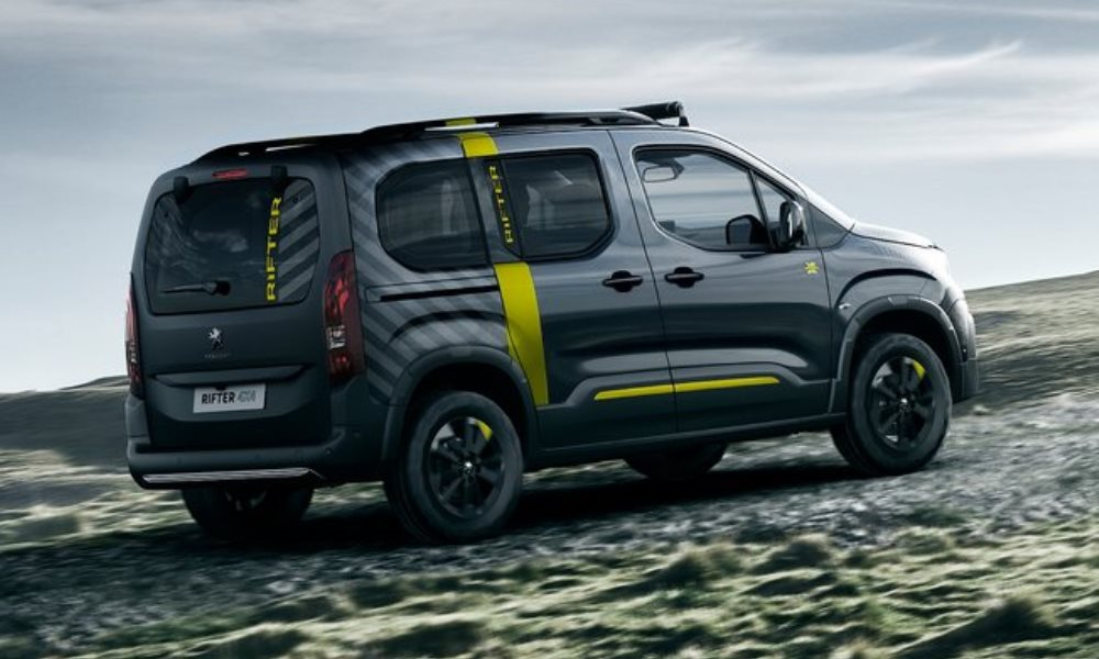 peugeot rifter 4x4 concept 'heads for the hills' - car magazine
