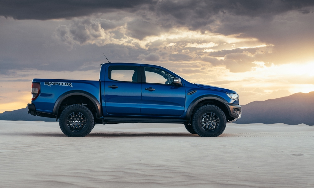 Ford Ranger Raptor profile