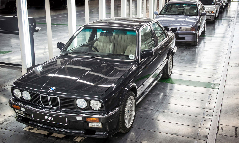 Five Generations Of BMW 3 Series Models Have Been Produced At Plant Rosslyn.