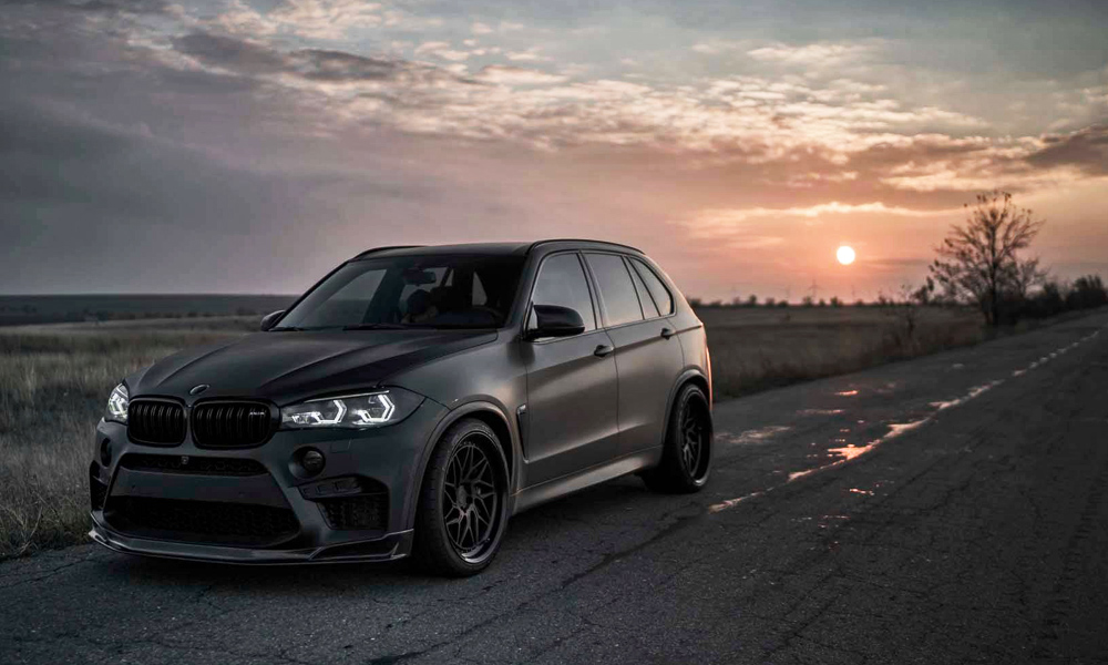 This BMW X5 M By Z Performance Looks Angry