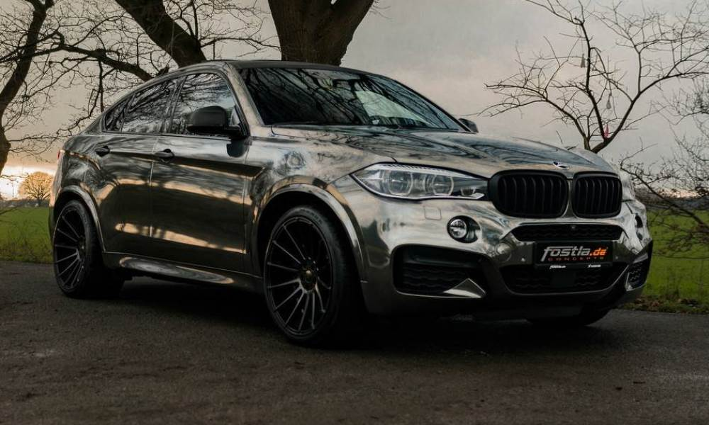 Bmw X6 M50d Gets Edgy Makeover And More Oomph Car Magazine