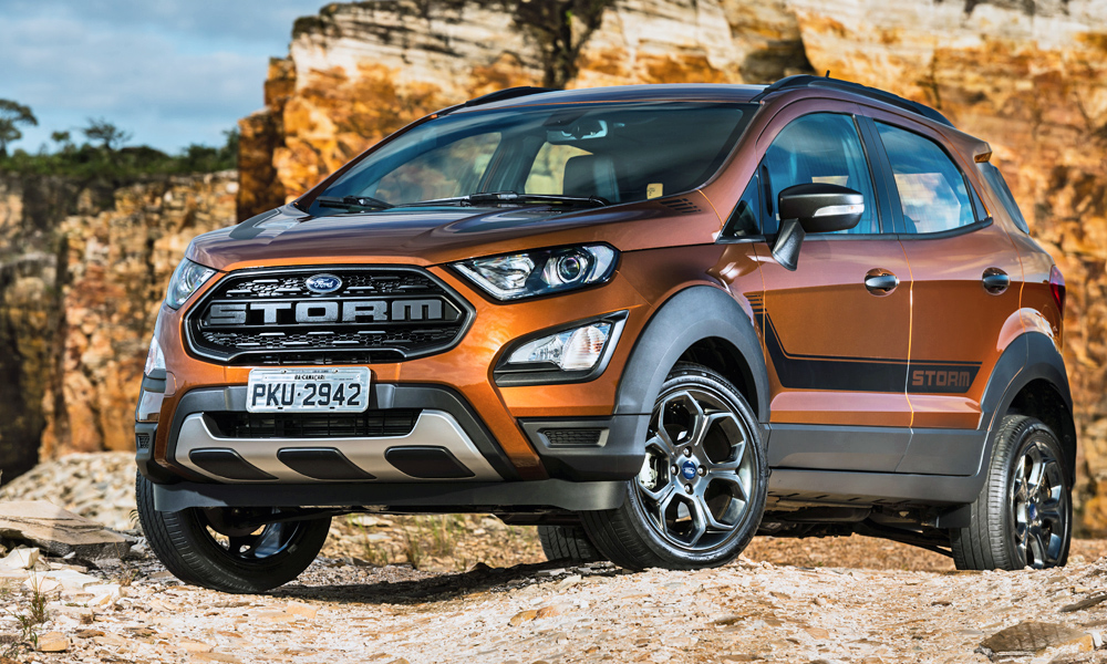 Ford has revealed its new EcoSport Storm in South America.