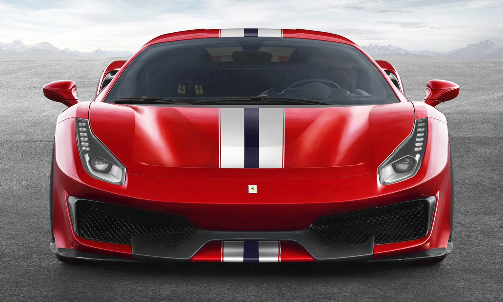 The 488 Pista makes a whopping 530 kW.