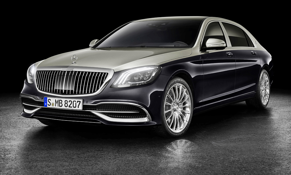 The Mercedes-Maybach S-Class has been further revised.
