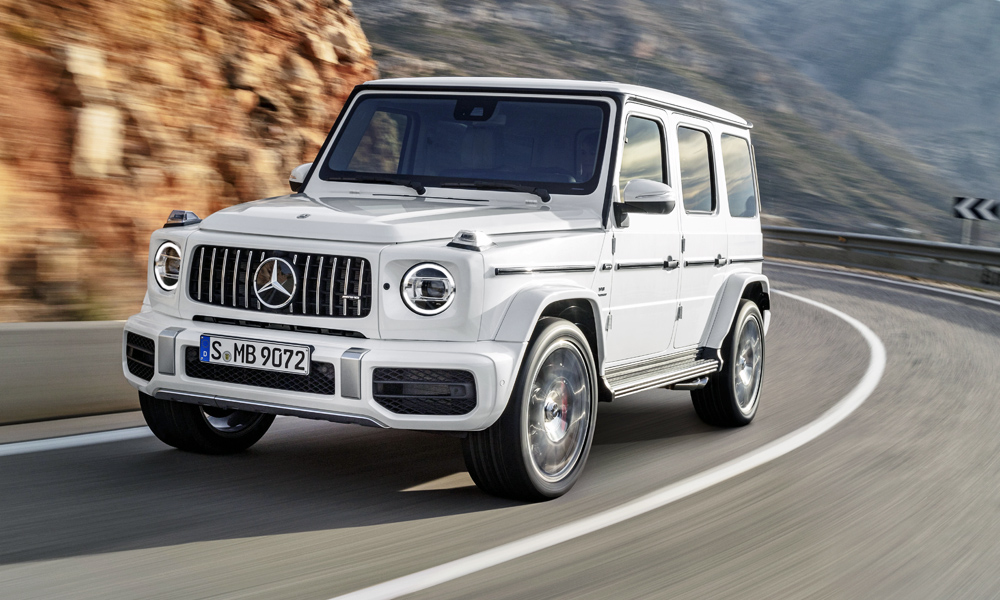 The new Mercedes-AMG G63 has been revealed...
