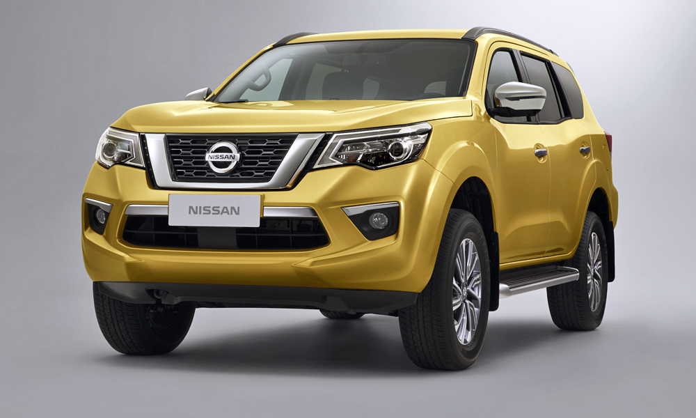 Nissan has finally revealed its new, Navara-based Terra SUV.