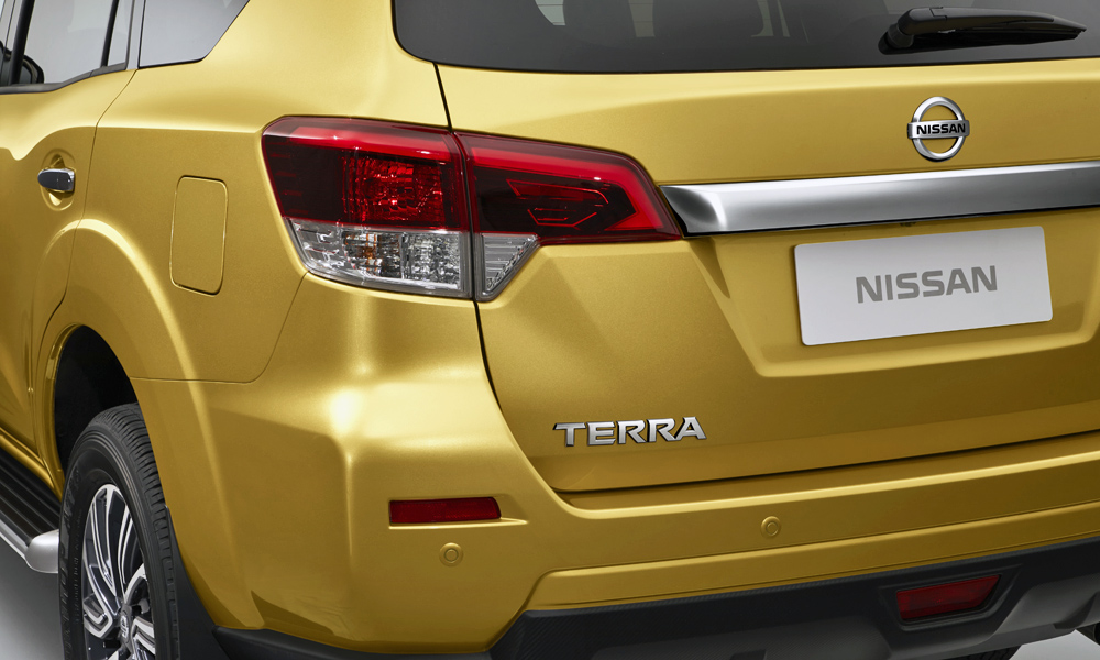 Will the frame-based SUV wear the Terra badge in all markets?