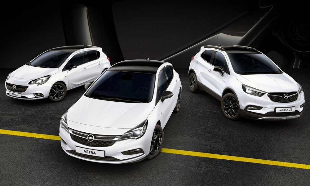 Opel shows trio of 'black and white' special editions - CAR magazine