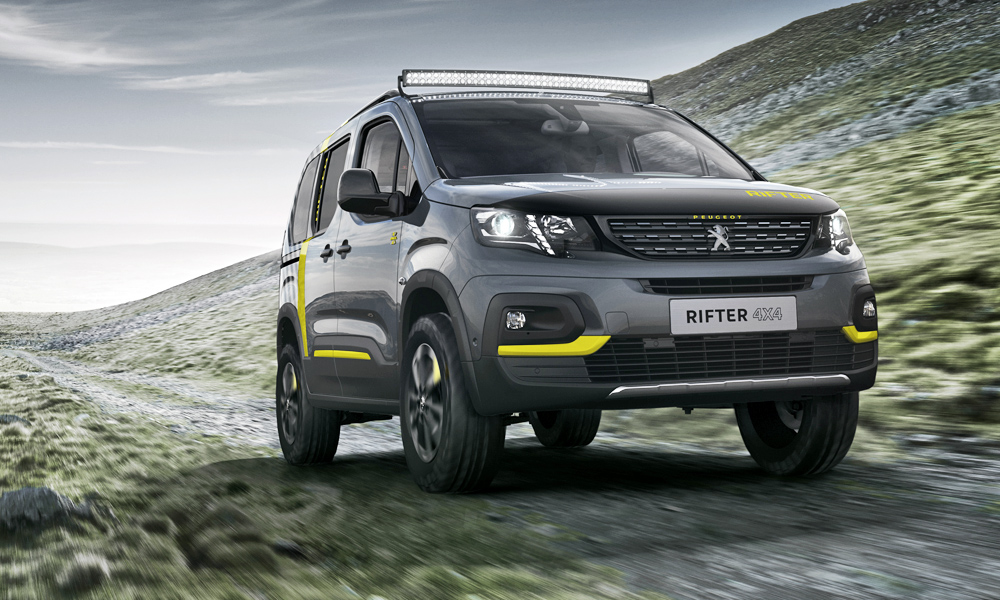 Peugeot has revealed its Rifter 4x4 Concept.