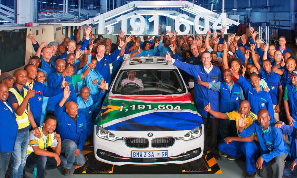 Final BMW 3 Series from Plant Rosslyn
