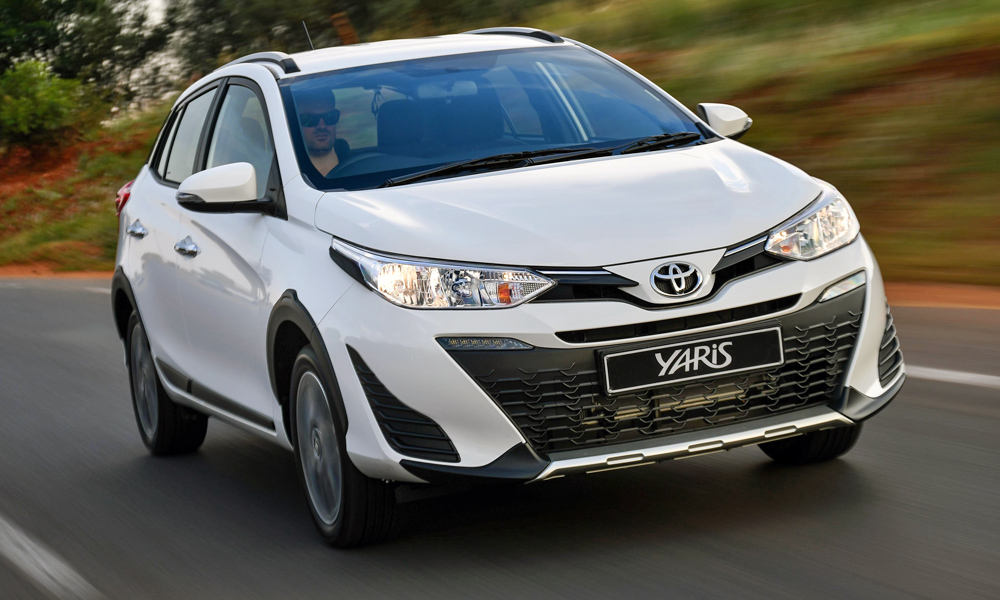 Toyota SA has switched from the Euro-spec Yaris to the Asia-spec model (Cross variant pictured here).