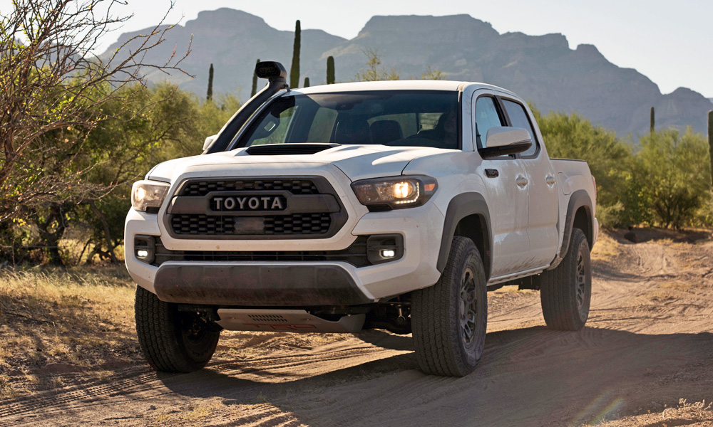 Meet the updated Toyota TRD Pro Tacoma...