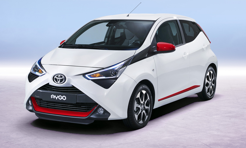 Toyota has revealed its facelifted Aygo.