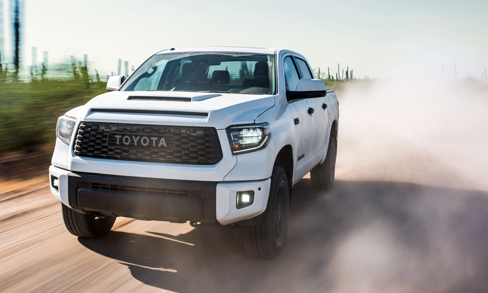 An updated version of the TRD Pro Tundra has also been revealed.