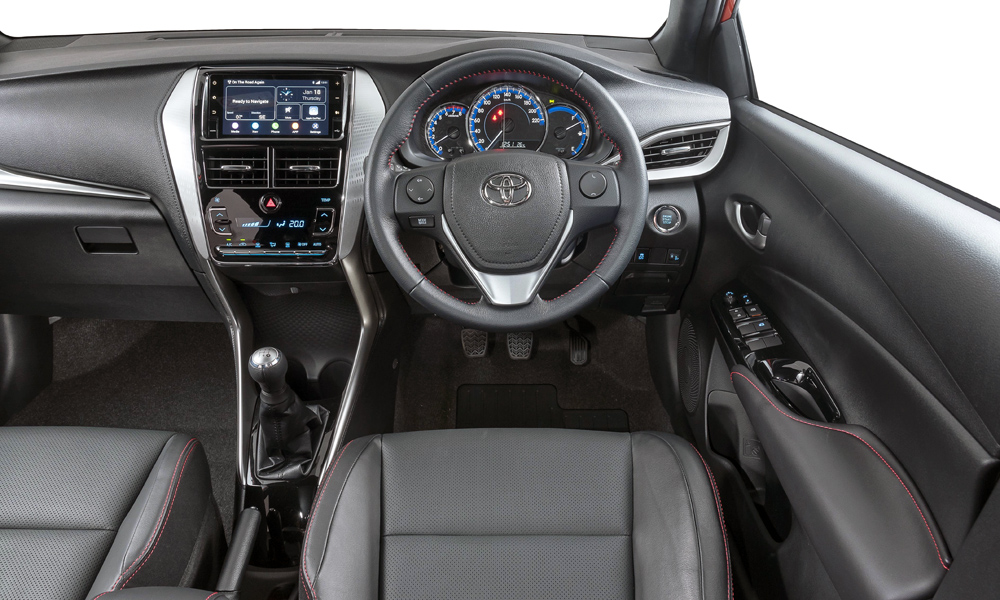 The infotainment system includes satellite navigation as standard.