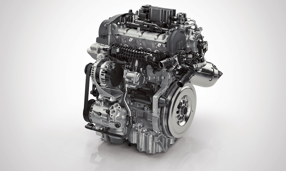 Volvo Drive-E three-cylinder petrol engine