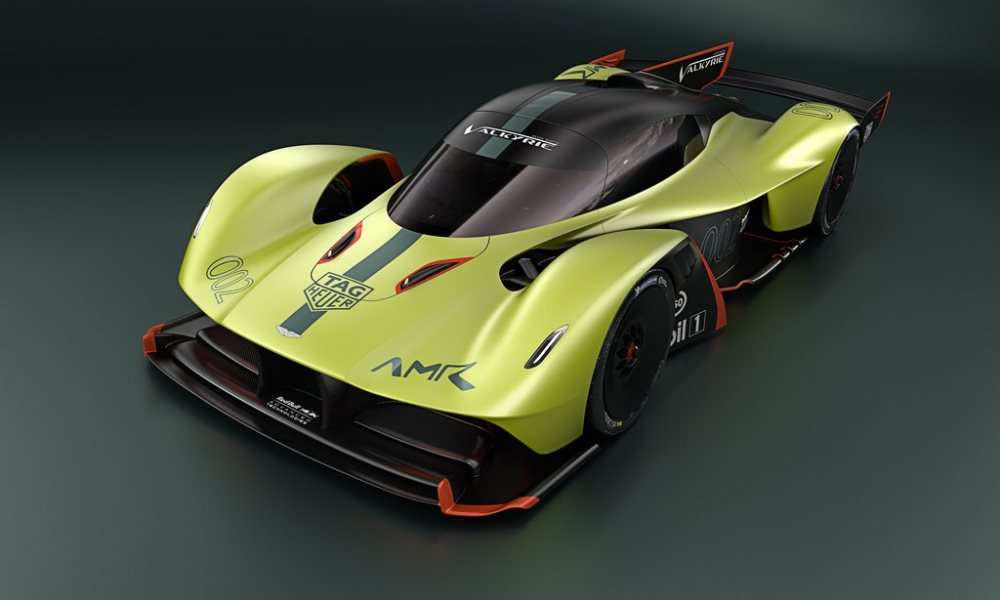Aston Martin Valkyrie AMR Pro front
