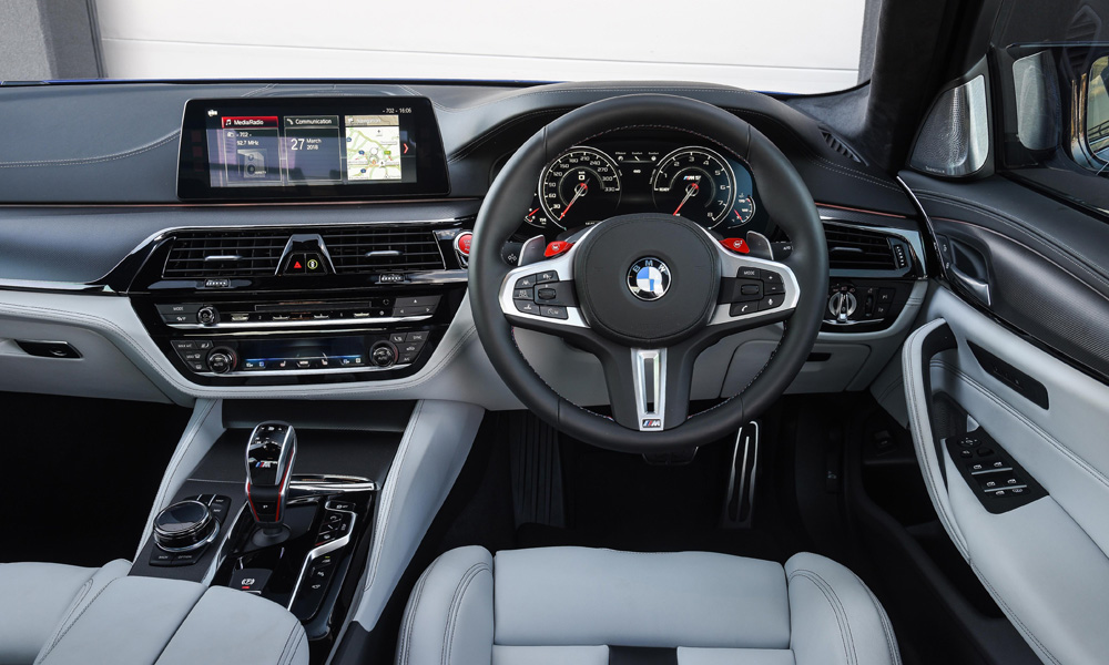 The cabin is luxurious with all the features you would expect, while the sport seats are both comfortable and supportive.